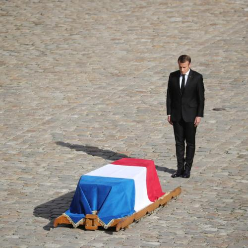 Photo Story: The Funeral for former French president Jacques Chirac