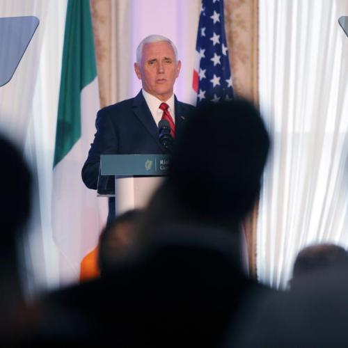 US Vice President Mike Pence says US will play active role for successful Brexit