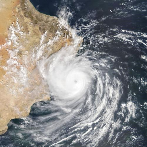 Tropical Cyclone Hikaa hits Oman