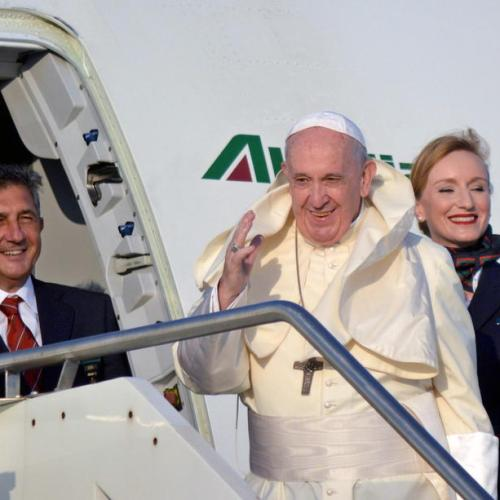 Pope Francis begins Apostolic journey to Africa