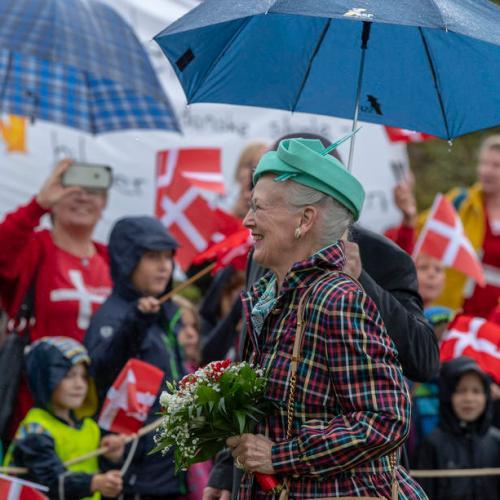 Photo Story: Queen Margrethe II of Denmark visits Schleswig-Holstein