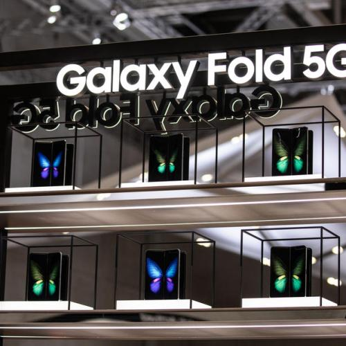 Samsung unveils the Galaxy Fold 5G at the IFA in Berlin