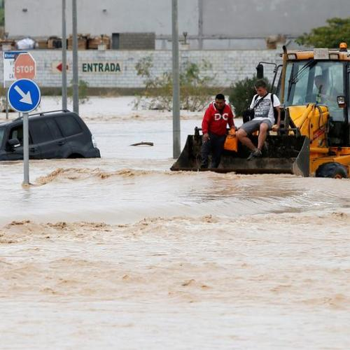 Victims from floods in Spain increase to five