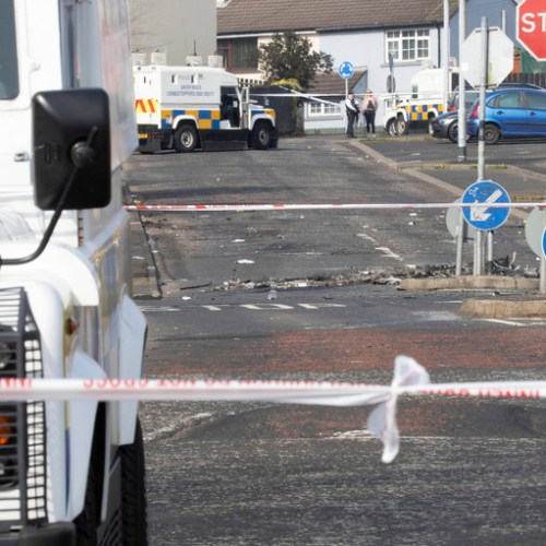 Police in Derry attacked with petrol bombs