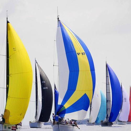 Photographic highlights of the 40th edition of Rolex Middle Sea race