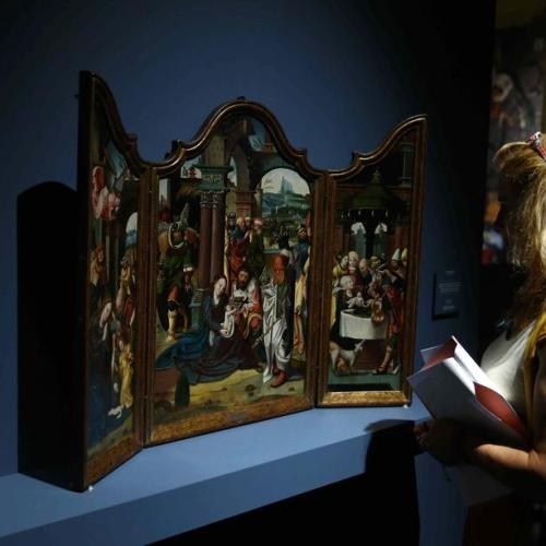 Photo Story: Exhibition on Marvels of Flemish Art in Madrid
