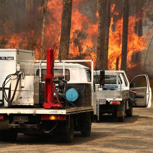 Photo Story: Authorities fight bushfires in New South Wales