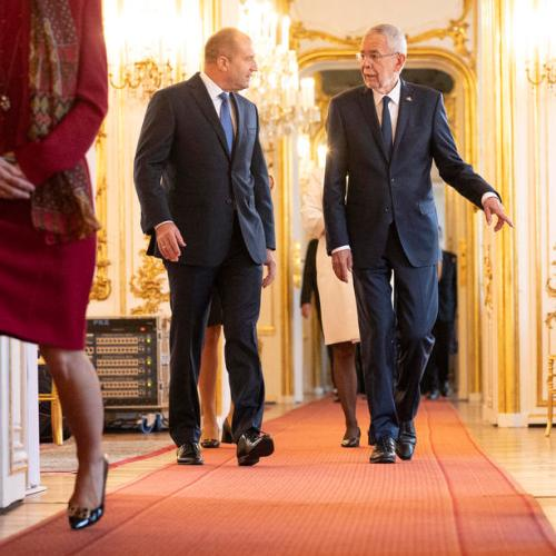 Photo Story: Bulgarian President Rumen Radev visits Austria