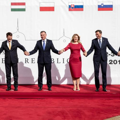 V4 Presidents' Summit with Serbia and Slovenia