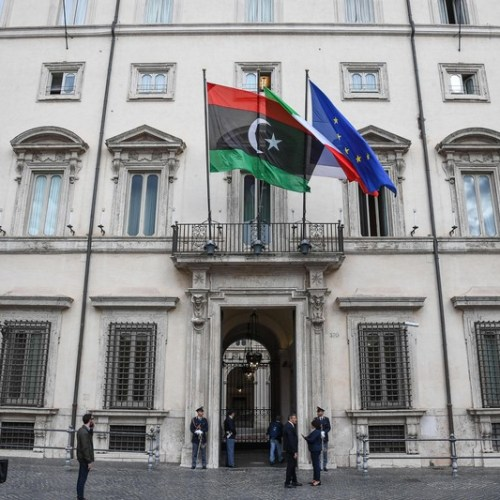 Libyan and Italian Interior Ministers review cooperation in fighting illegal immigration