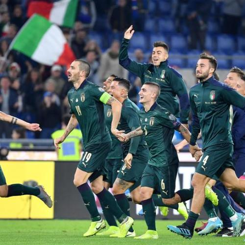 Mancini's Italy qualifies for Euro 2020