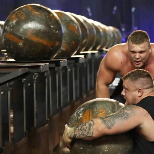 Photo Story: The World's Ultimate Strongman competition in Dubai