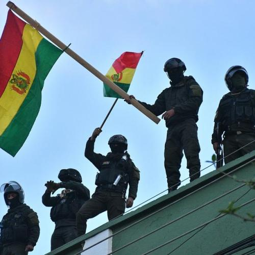 Bolivian police 'mutiny' in opposition to Evo Morales