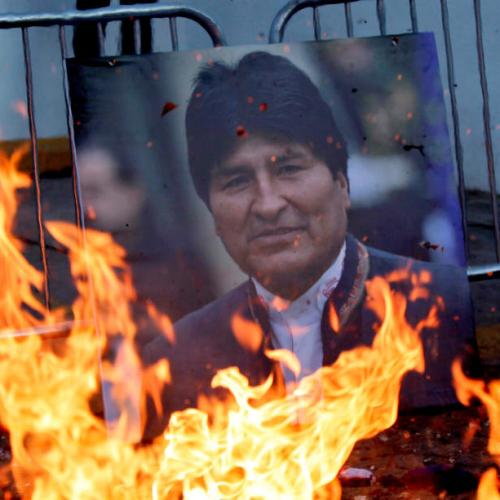 Former Bolivian President Morales accused of terrorism and sedition