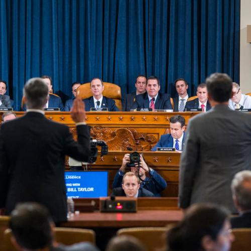 Over 13 million watched U.S. impeachment hearing