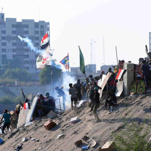 Security forces kill protester in Iraq, wound dozens
