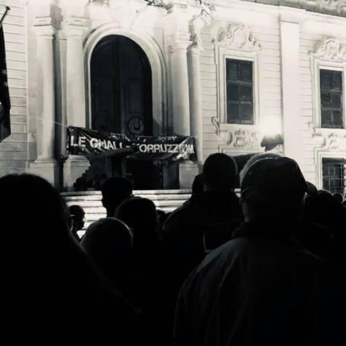 Photo Story – Protestors demand PM's resignation after arrest of businessman Yorgen Fenech in relation to journalist Daphne Caruana Galizia's assassination