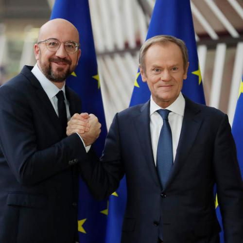 Charles Michel replaces Donald Tusk as EU Council President