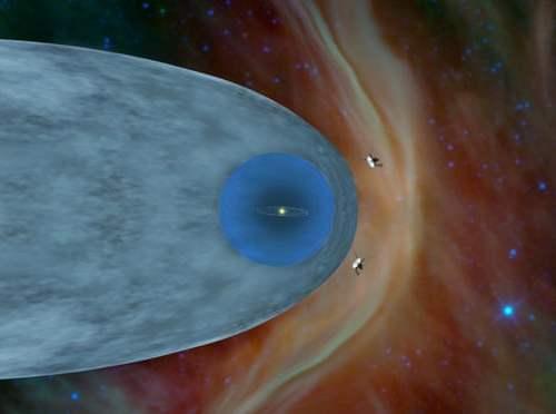 Voyager 2 spacecraft sends first messages from interstellar space