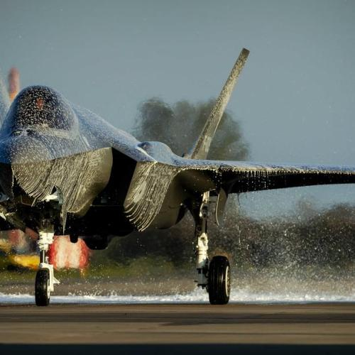 Photo Story: First F-35 lands at Leeuwarden Air Base in the Netherlands