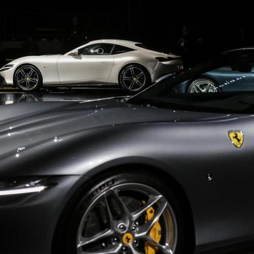 Photo Story: The presentation of the Ferrari Roma