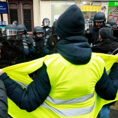Protests in France on first anniversary of 'Yellow Vests'