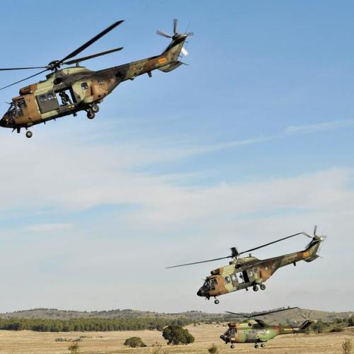Military exercise 'Toro 2019' in central Spain
