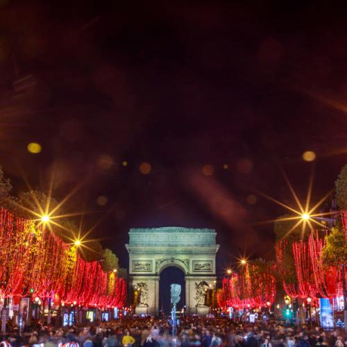 Photo Story: The Champs-Elysees in Paris lights up for Christmas