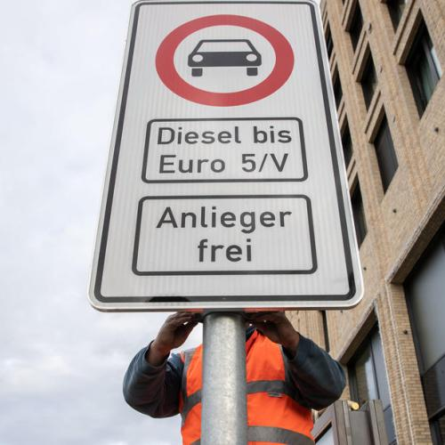 Berlin bans diesel cars and trucks
