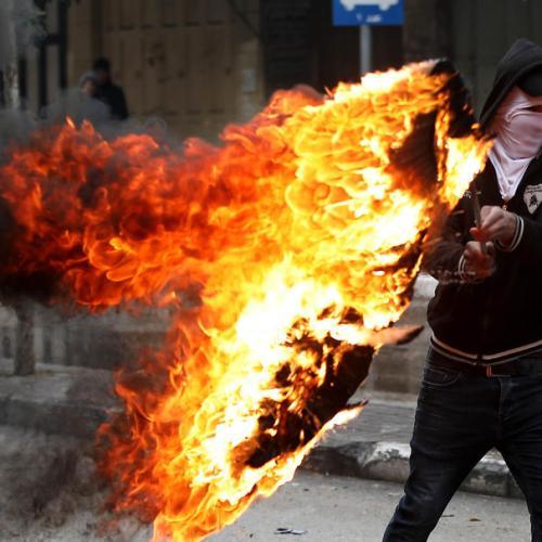 Palestinians protests in Hebron