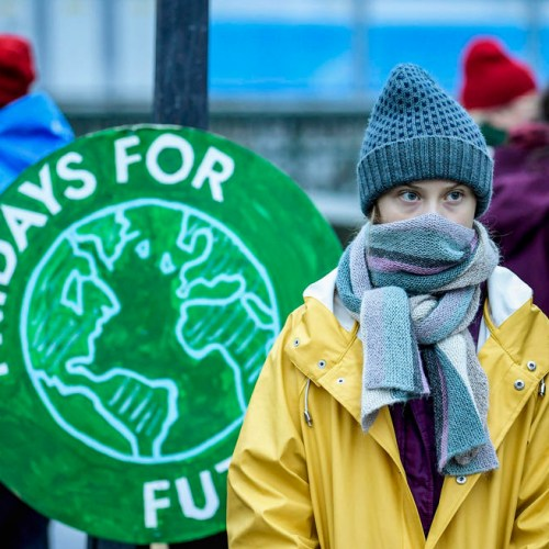 Photo Story: Greta at 'Fridays For Future' protest in Stockholm