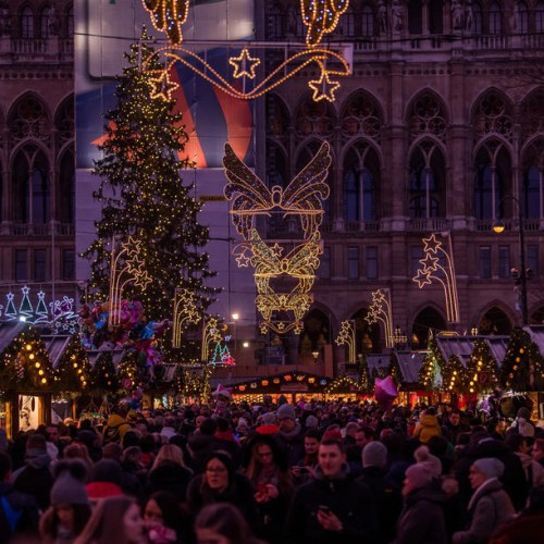 Photo Story: Christmas market in Vienna