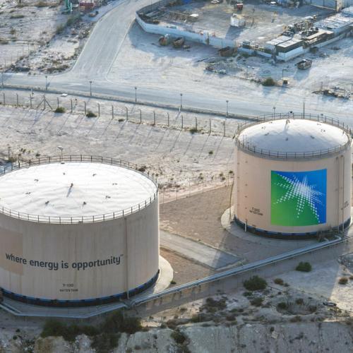 Saudi Aramco shares up sharply on market debut