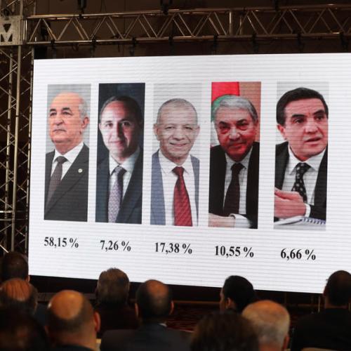 Algeria's former PM Abdelmadjid Tebboune wins presidential election