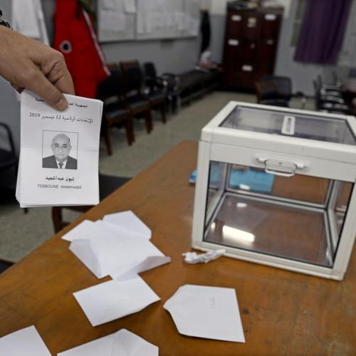 Algeria's contested presidential election sees historically low turn out