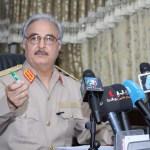 Libya's Haftar closes border with Algeria