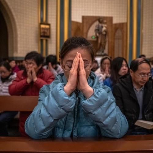 Christmas prayer – China