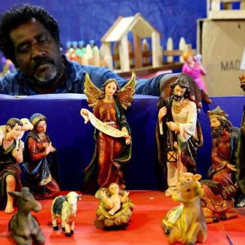 Christmas crib – Bangalore