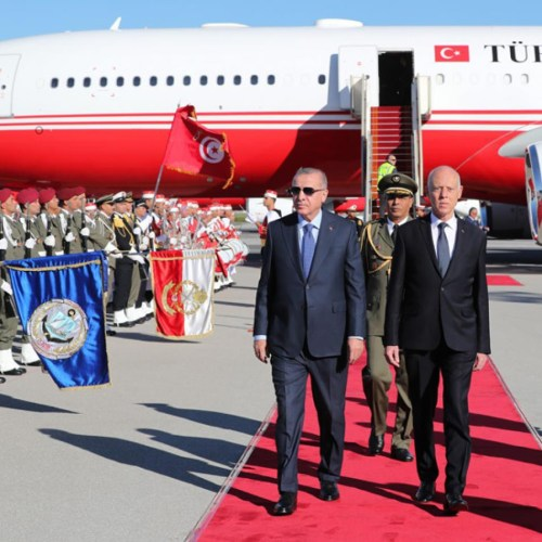 Libyan ceasefire includes agenda as Turkish President makes unannounced trip to Tunisia