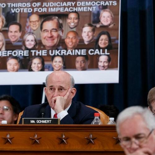 Democrats make case for Republicans to back Trump impeachment