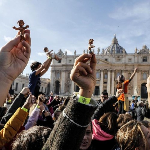 Photo Story: A Pope's blessing