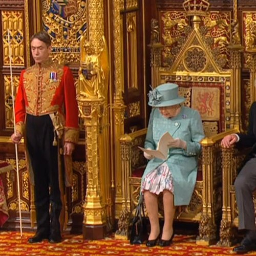 Queen outlines PM's plans in State Opening of Parliament