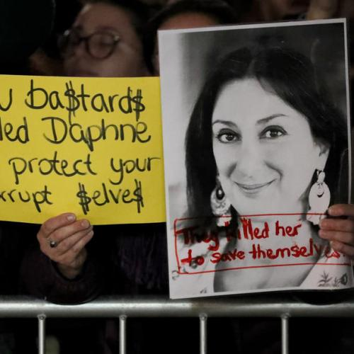 Malta journalist murder suspect accused former PM's chief of staff – police