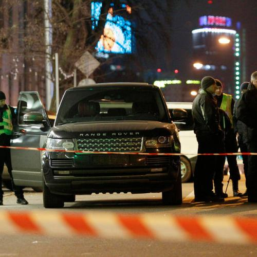 Ukraine – Businessman and politician's three-year-old son shot dead when assassins opened fire on Kiev city councillor's car