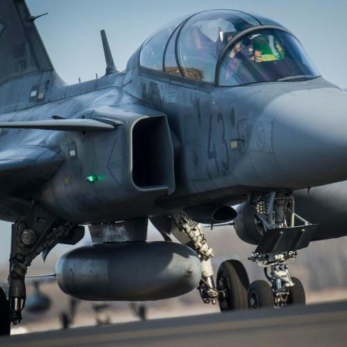 Photo Story: Hungarian JAS-39 Gripen fighter jets return home
