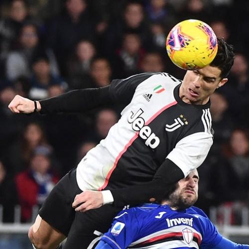 Cristiano Ronaldo defies gravity in his goal against Sampdoria