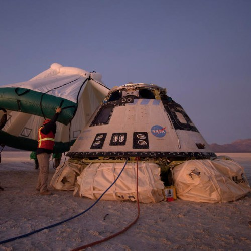 Boeing's capsule lands after incomplete space mission