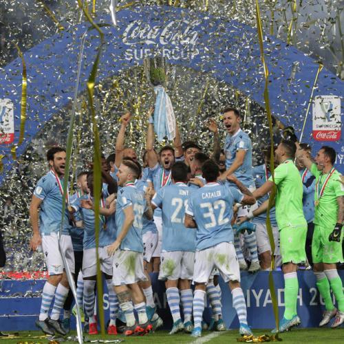 Lazio win the Italian Super Cup