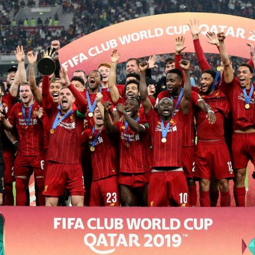 AIPS votes Liverpool as the Best Team, Messi the Best Male Athlete and gymnast Simone Biles as Best Female Athlete of 2019