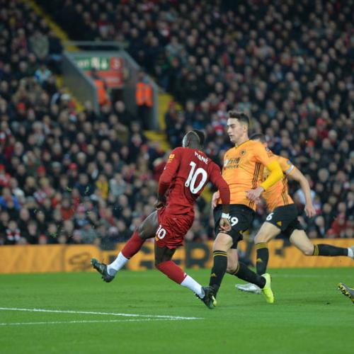 Liverpool beats Wolves to start 2020 with a 13 point lead